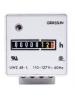 Intermatic UWZ48A -120U - AC Hour Meter - Wall Mount - Screw Terminal with Terminal Cover - 120 VAC
